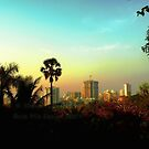 Malad Skyline (Mumbai, India) by rocamiadesign