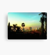 Malad Skyline (Mumbai, India) Canvas Print