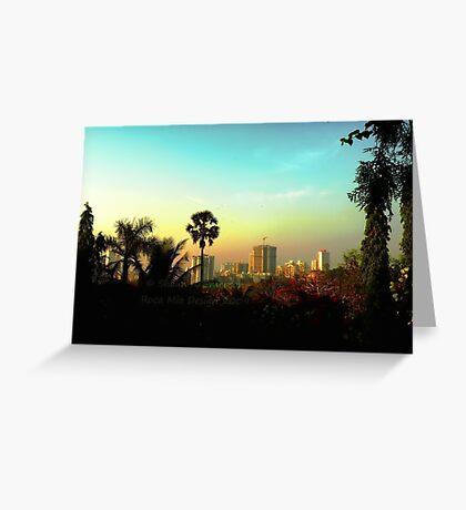 Malad Skyline (Mumbai, India) Greeting Card