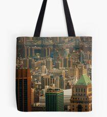 Bolsa de tela New York City Buildings and Skyline