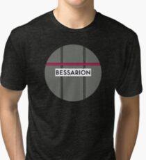 BESSARION Subway Station Tri-blend T-Shirt