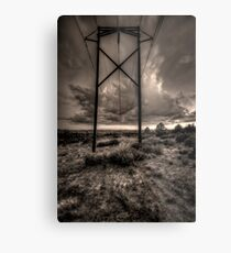 Electrical Storm Metal Print