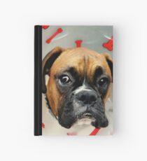 Nicht glücklich - Boxer Dog Series Notizbuch