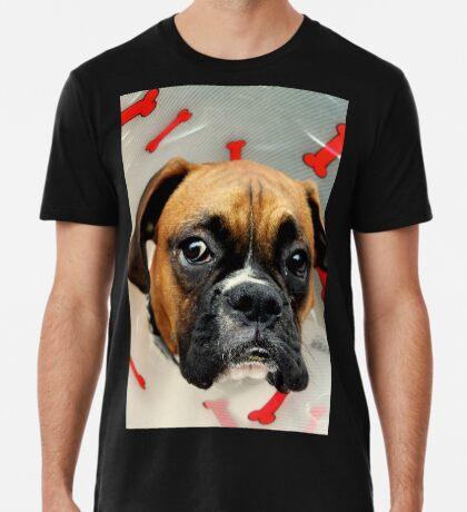 Nicht glücklich - Boxer Dog Series Premium T-Shirt