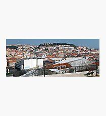 Castelo de Sao Jorge, Lisboa, Portugal Photographic Print