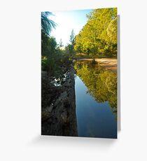 Grose river    (no.5) Greeting Card