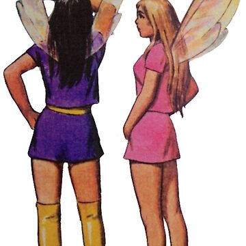 Groovy Fairies by adammcinerney