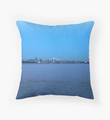 Far far away - Mt Baker Throw Pillow