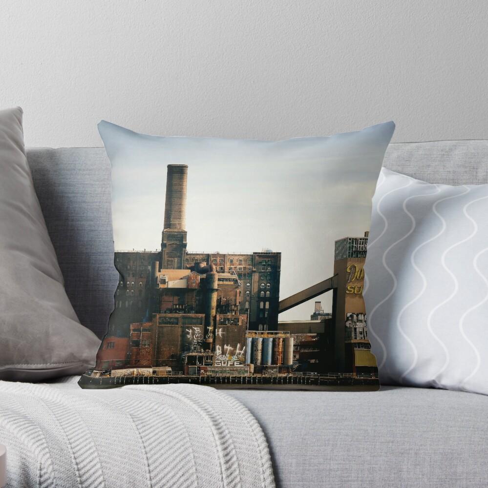 Sugar Factory - Brooklyn - New York City Cojín