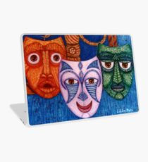 The joy, the anger and the fear  Laptop Skin