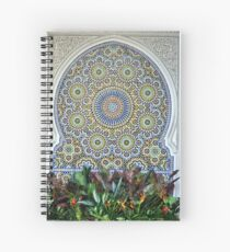 Mosaic and Planter Spiral Notebook