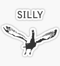 Silly Goose Sticker