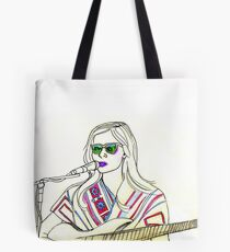 Sing to the Trees Psychodelic Tote Bag