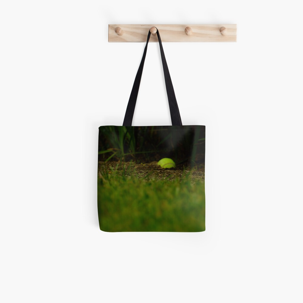 Lawn tennis Tote Bag