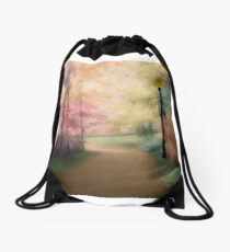 A Walk In The Park - Infrared Series Drawstring Bag