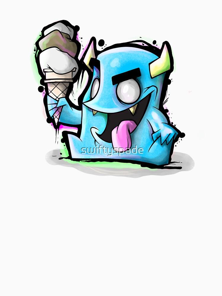 Eiscreme-Monster von swiftyspade