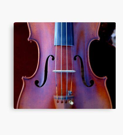 copy of Stradivarius 'Soil' 1714 © 2010 patricia vannucci  Canvas Print