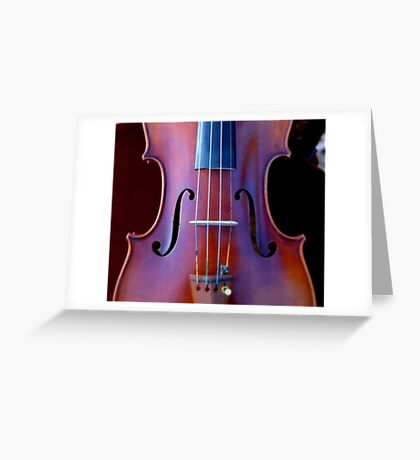 copy of Stradivarius 'Soil' 1714 © 2010 patricia vannucci  Greeting Card