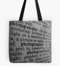 photographer Tote Bag