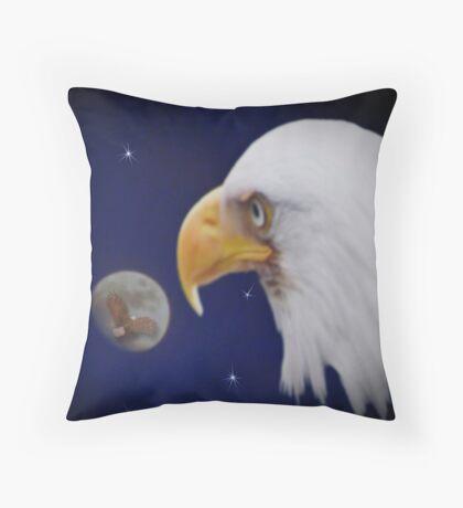 Moonlight Shadow ll Throw Pillow