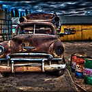 Old Car by Manfred Belau