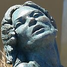 the bronze lady, scupltures by the sea by Marius Brecher