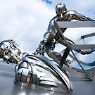 RNLI Memorial Sculpture by bubblebat