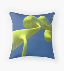 Sculptures by the sea - Bondi Throw Pillow