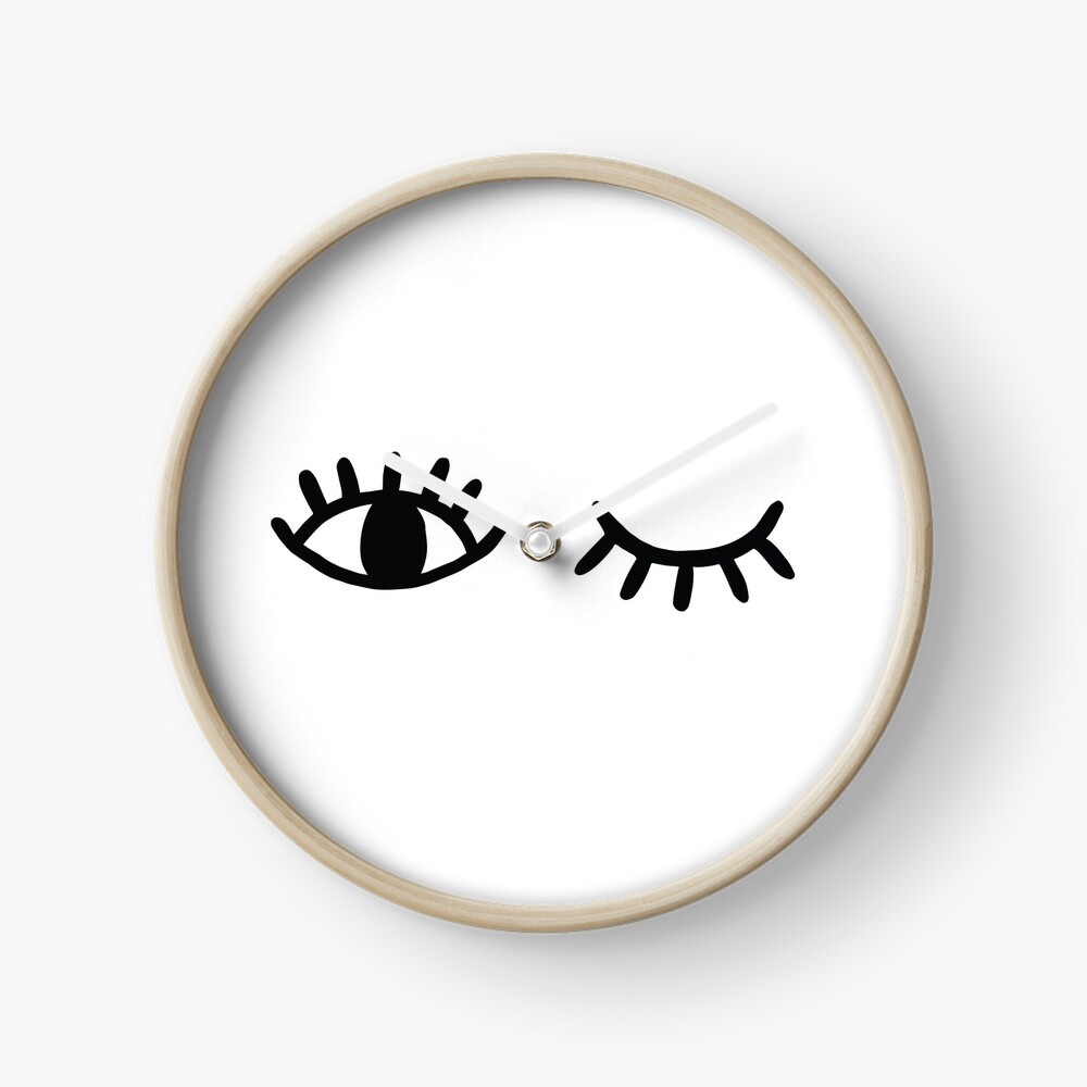 Wink Clock