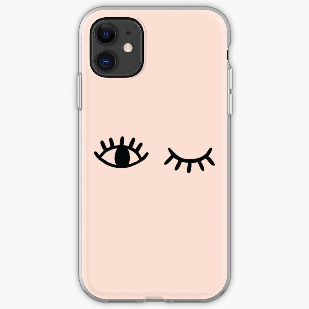 Wink iPhone Soft Case