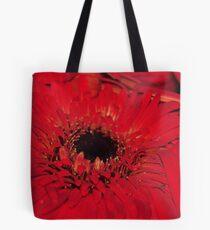 Red Gerberas Tote Bag