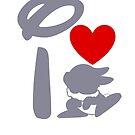 I Heart Thumper (Inverted) by ShopGirl91706