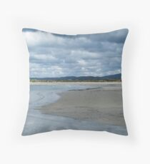 From the Pier at Port Marsh Throw Pillow