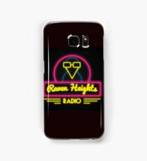 Raven Heights Radio Logo Samsung Galaxy Case/Skin