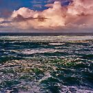 The Pacific at Depoe Bay by Bryan D. Spellman