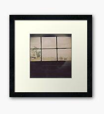A Secret Window? Framed Print