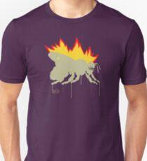 Camiseta unisex Bee on Fire