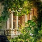 Balcony At Winterthur by Lois  Bryan