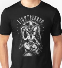Lightbearer - Lucifer - Baphomet - Eldritch Dreamer - Lovecraftian Cthulhu mythos wear Slim Fit T-Shirt