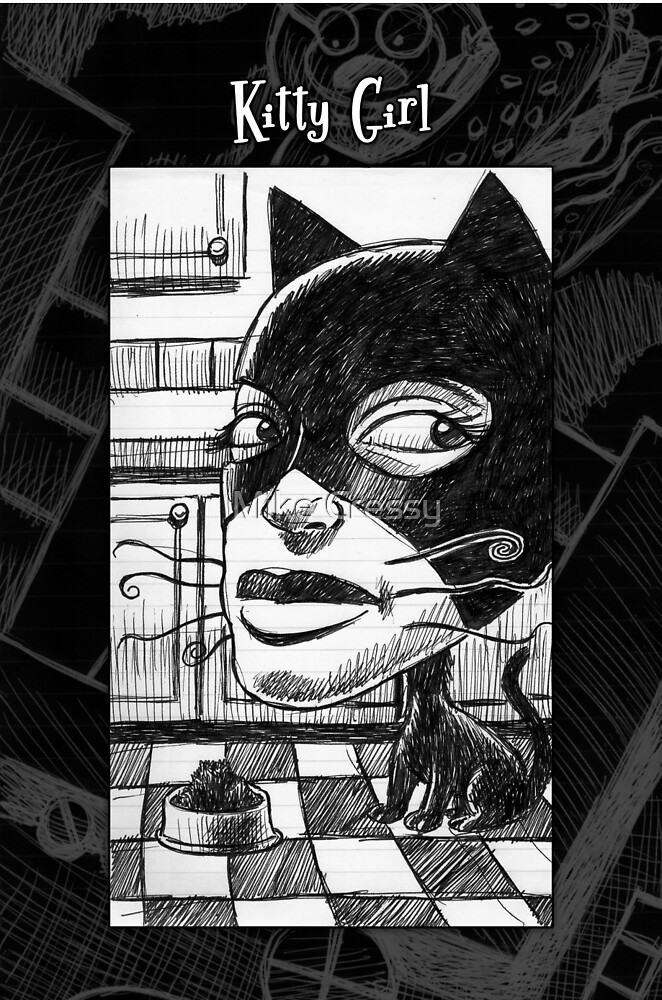 Kitty Girl by Mike Cressy