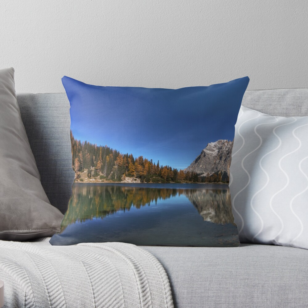 Germany's Highest Throw Pillow