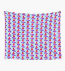 violets in a vase Wall Tapestry