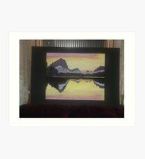 Acylic- Reflections Art Print