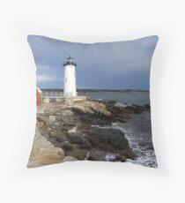 Portsmouth Harbor Lighthouse Throw Pillow