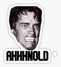 Arnold Schwarzenegger AHHHNOLD! Sticker