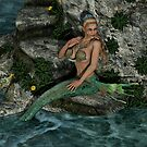Relaxing Mermaid by RedLeatherArt