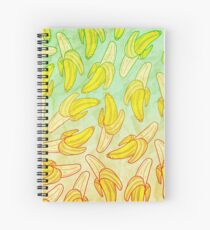 BANANA - RAINBOW by Kohii Love & Toso Journ Spiral Notebook