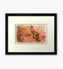 Once  Upon A Time....... Framed Print