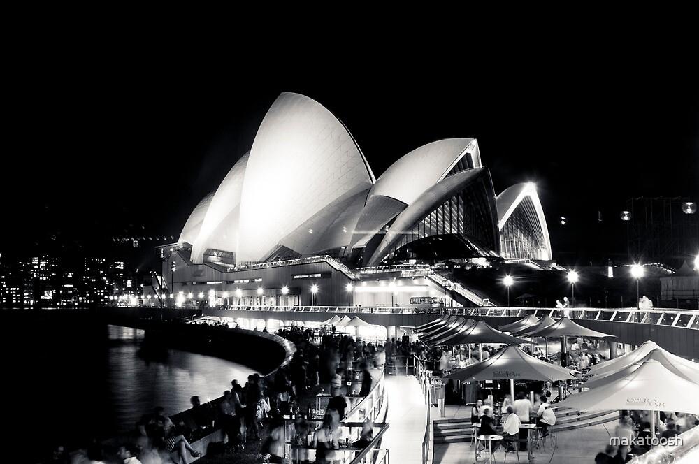 Opera House @ night by makatoosh