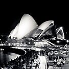 Opera House @ night by makatoosh